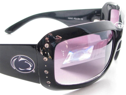 WSunglassses - Penn State Nittany Lions NCAA Women's Black Fashion Sunglasses