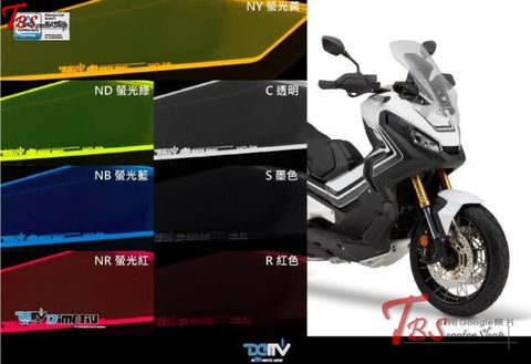 Dimotiv Honda X-Adv Headlight Protection Cover Transparent(C)