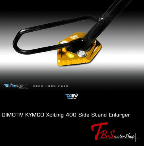 Dimotiv Kymco Xciting 400 Side Stand Enlarger