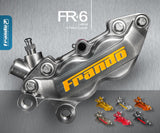 Frando Fr-6 Lateral 4 Piston Caliper Universal Parts
