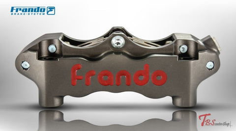 Frando Hf-4 Big Radial 6 Piston Caliper Hard Anodized / Right Universal Parts