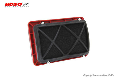 Koso Hurricane Multi Air Filter For Yamaha Tmax Tmax