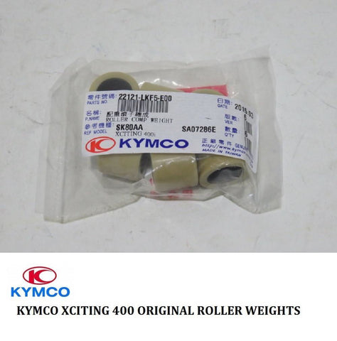 Kymco Xciting 400 Original Roller Weights Xciting