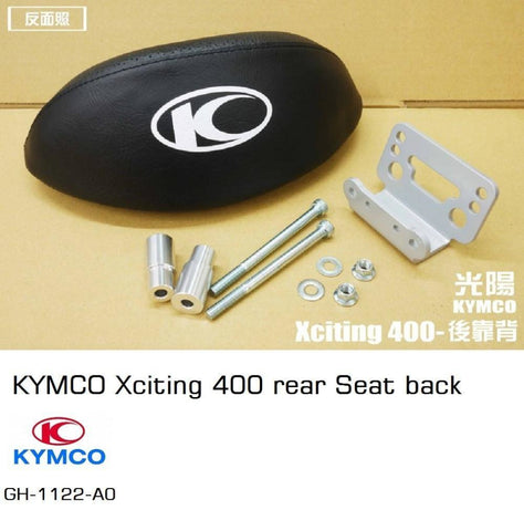 Kymco Xciting 400 Rear Seat Back