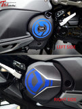 Maxsym Tl Engine Side Cover Reflective Sticker Both / Blue Maxsym