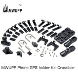 Mwupp Phone Gps Holder For Crossbar Universal Parts
