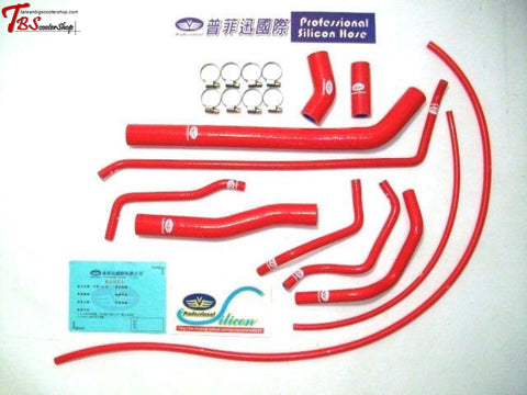 Professional Reinforced 11P Silicon Water Hose For Tmax 530 (2012~2016) Red Tmax