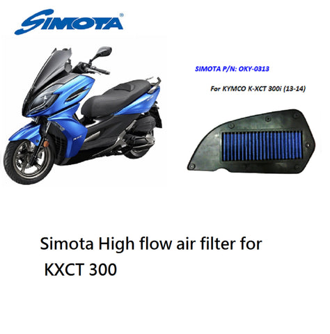 Simota High Flow Air Filter For Kxct 300 K-Xct