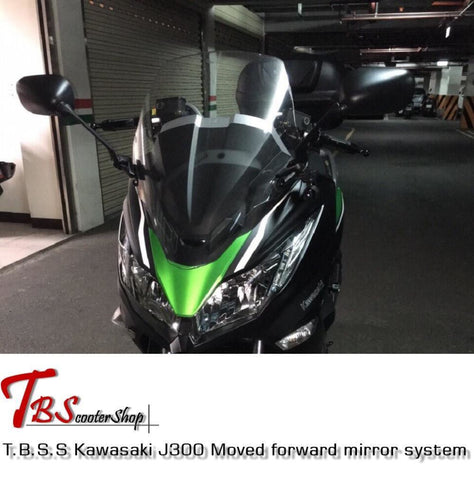 T.b.s.s Kawasaki J300 Moved Forward Mirror System