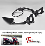 T.b.s.s Kymco Xciting Moved Forward Mirror System (530 Style) A3