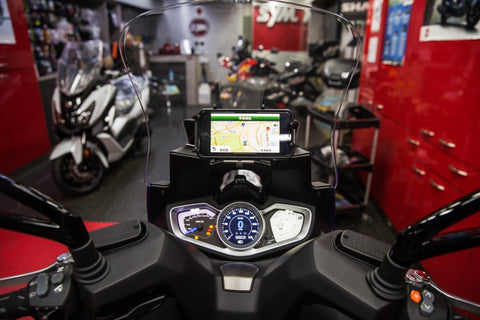 Tbss Kymco Xciting S Mobile Phone Holder Multi-Function Integrated System (Pd4U)