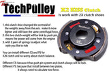 Techpulley X2 Kiss High Occlusal Clutch Universal Parts