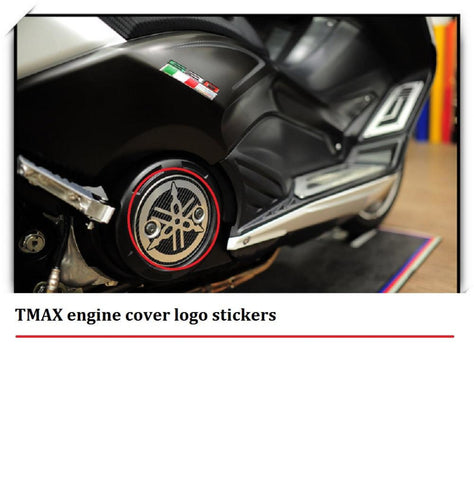 Tmax Engine Cover Logo Stickers Tmax