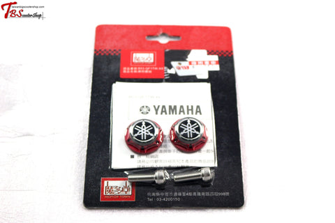 Yamaha M6 Logo Screws Red Universal Parts