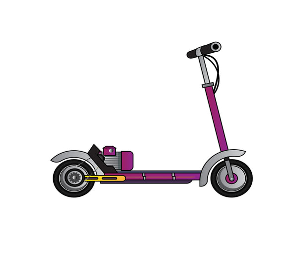 Gas Scooters