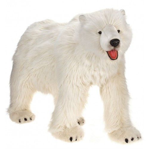 Hansa Creations Large Polar Bear All Fours 53 Stuffed Animal Toy