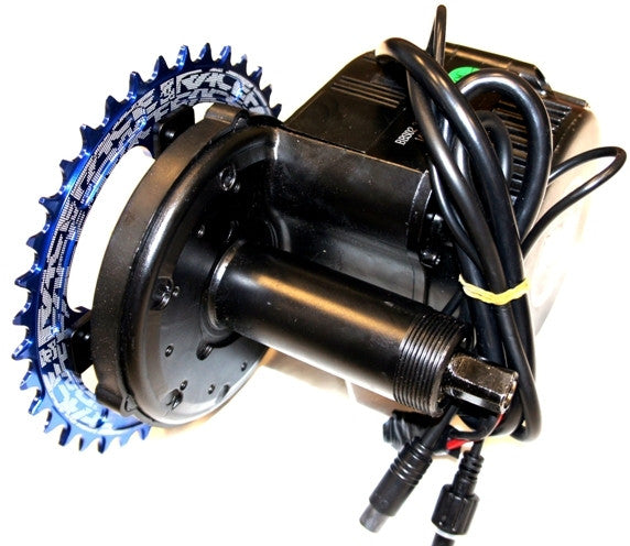 Recumbent Bike Electric Motor Kit: HPC Mid Drive Electric Bicycle Conversion System Complete