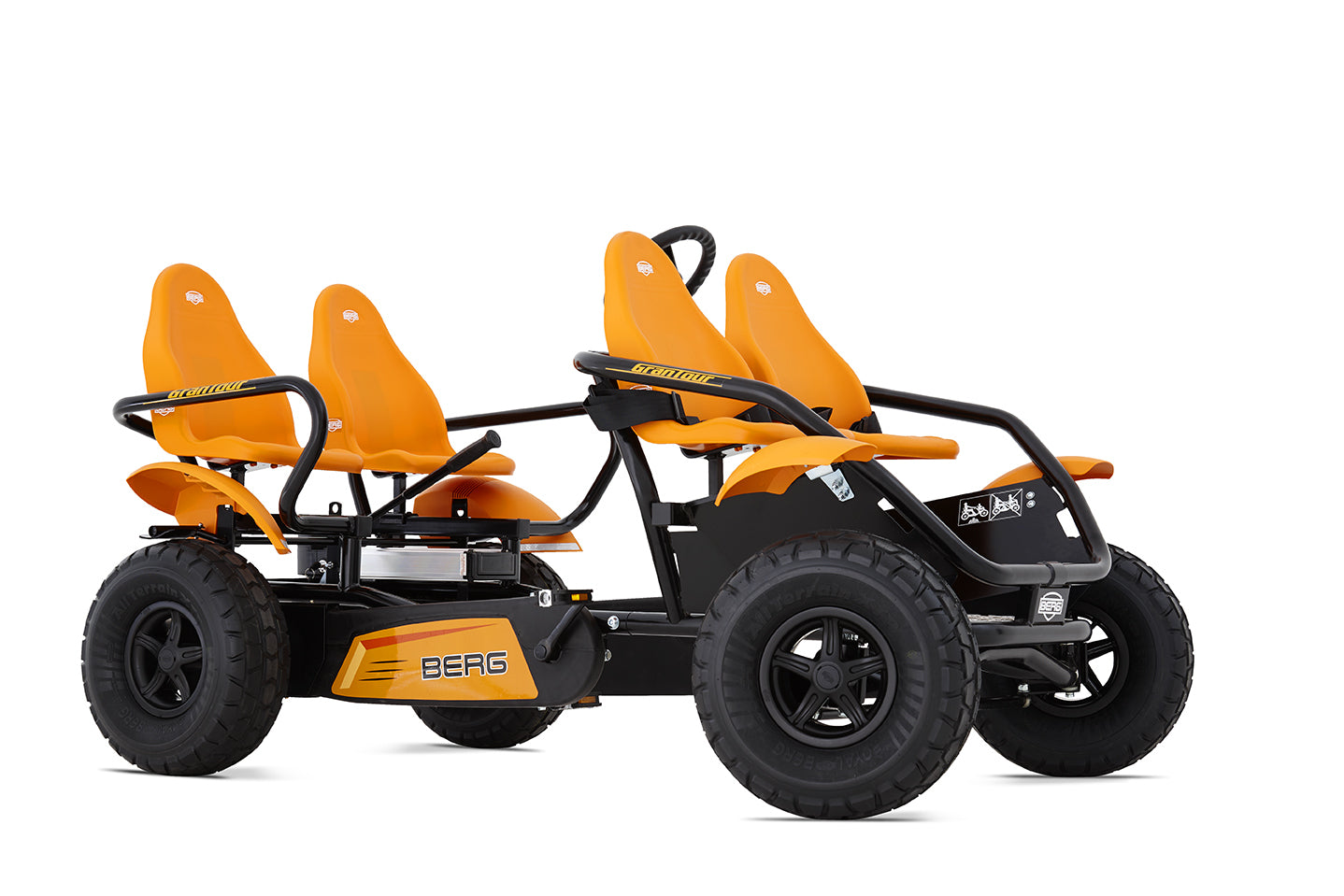 berg usa e grantour offroad 4 seater electric go kart upzy. Black Bedroom Furniture Sets. Home Design Ideas