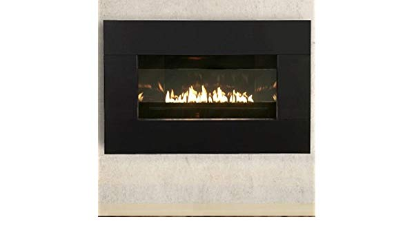 zero clearance gas fireplace wall empire loft ventfree zeroclearance gas fireplace with millivolt controls 10000