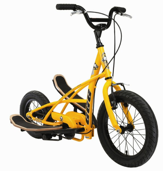 3g Bikes Quot Junior Quot 3g Stepper Bicycle Yellow Black Upzy