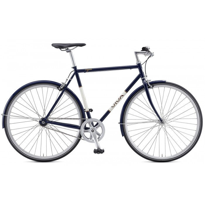 Viva Legato 1 Single Speed Traditional Bars City Bicycle