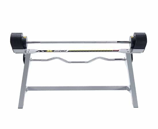 MX Select MX80 Adjustable Barbell & EZ Curl Bar Weight System