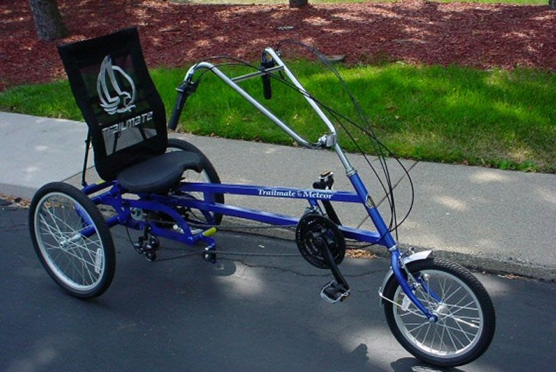 3 wheel recumbent style adult bike