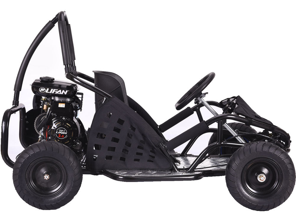 Big Toys USA MotoTec Off-Road 79cc 2-Stroke Kids Gas Go Kart, MT-GK ...