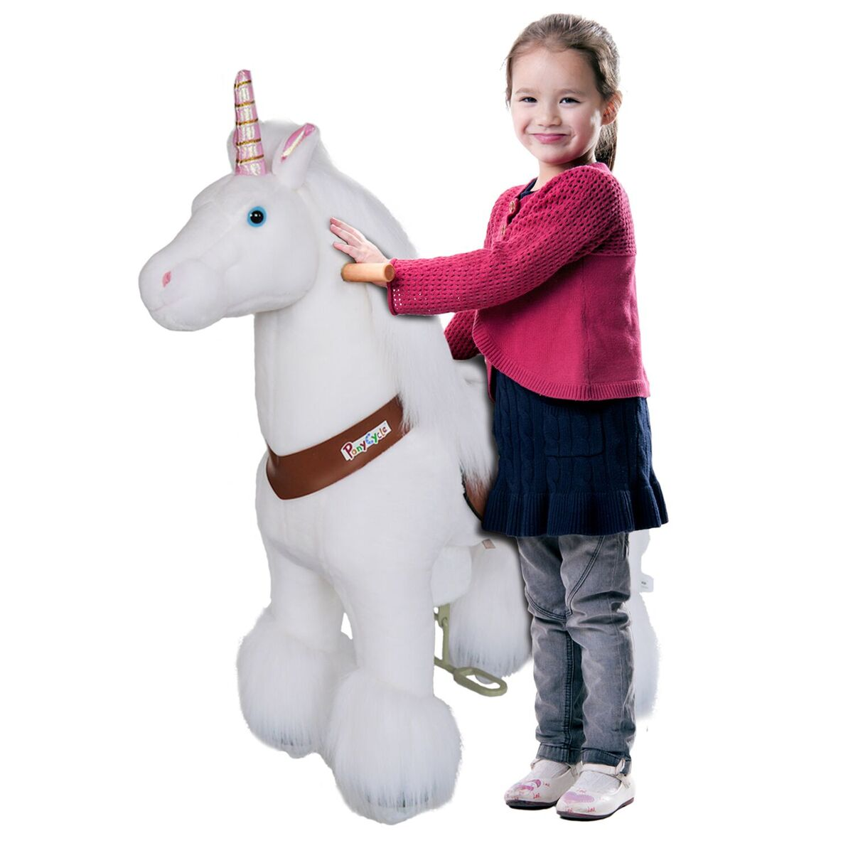 Pony Cycle Vroom Rider UNICORN Ride-On Kids Riding Toy Rocking Horse