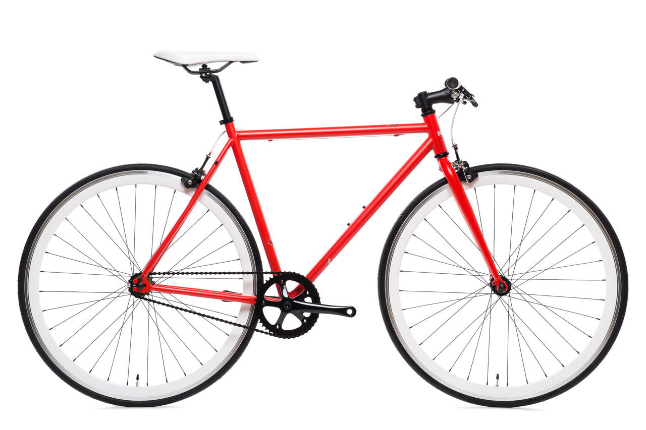 state bicycle co wyldcat core line fixie fixed gear bike matte red
