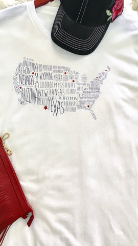 Starry States Tee