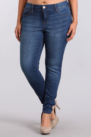 Super Skinny Dark Wash Jeans