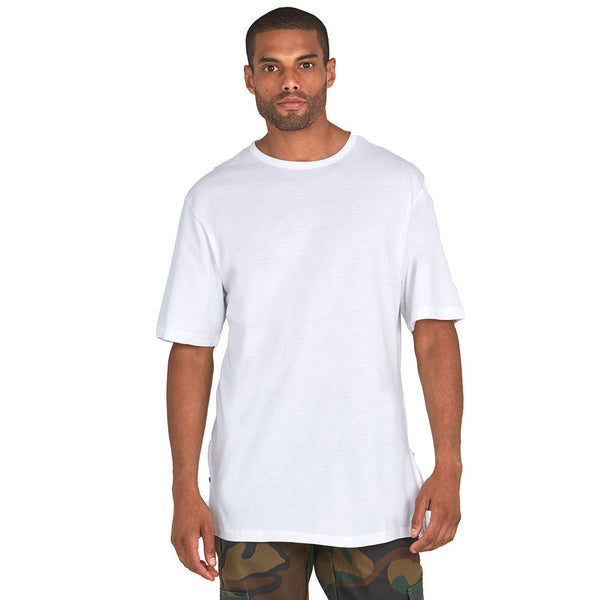 The Zip Zone White Long-Length Tee - Citi TrendsMens - 1