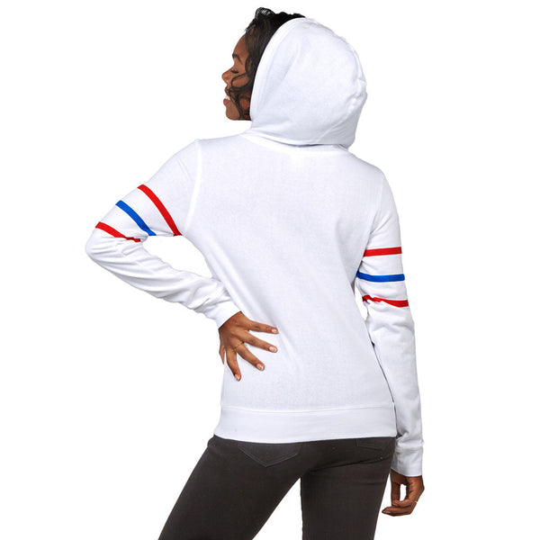 Getting Into Character White Minnie Mouse Hoodie - Citi Trends Accessories - Back