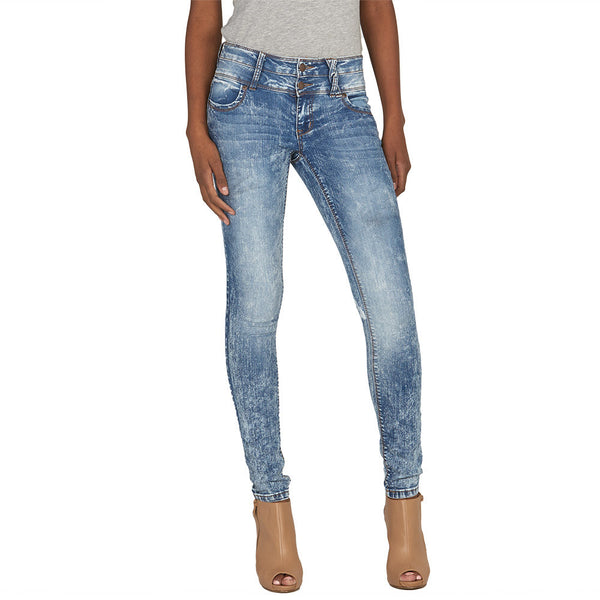 On Cloud Nine High-Waist Skinny Jean - Citi Trends Plus and Juniors - Front