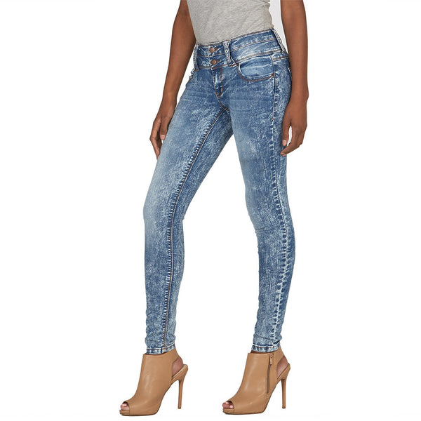 On Cloud Nine High-Waist Skinny Jean - Citi Trends Plus and Juniors - Side