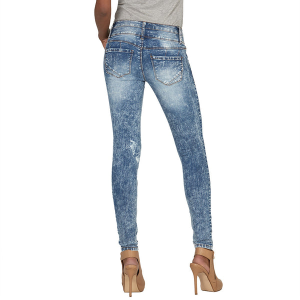 On Cloud Nine High-Waist Skinny Jean - Citi Trends Plus and Juniors - Back