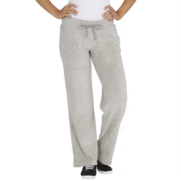 Glisten Up Grey 2-Piece Velour Set With Rhinestone Trim - Citi Trends Ladies - Pants