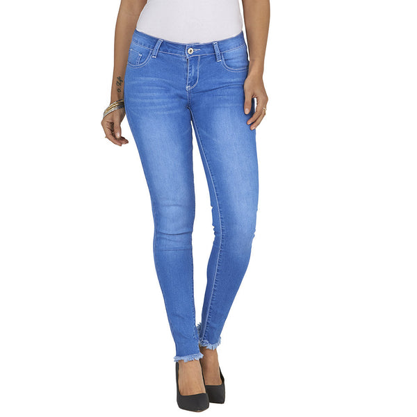 The Frays That Pays Super Stretch Skinny Jean - Citi Trends Ladies and Plus - Front