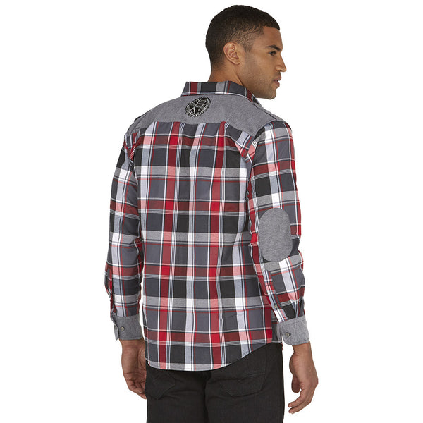 Get In Check Grey Plaid Button-Up