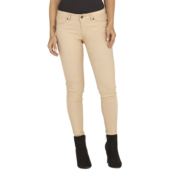 Stretch Back And Relax Khaki Skinny Pant - Citi Trends Plus and Ladies - Front