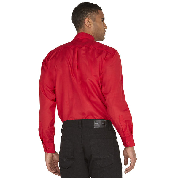 Dress To Impress Red/Plaid 3-Piece Dress Shirt Gift Box Set - Citi Trends Mens - Back