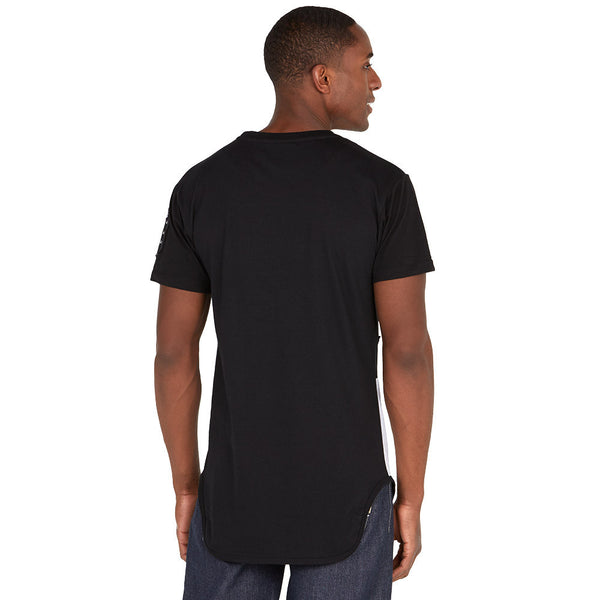 Flying Ace Olive/Gold Patchwork Tee - Citi Trends Mens - Back