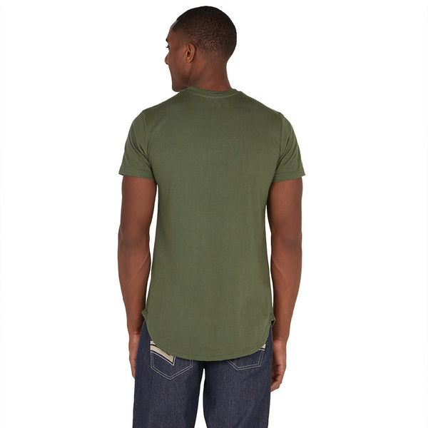 Seeing Green Camo Razor Tee - Citi Trends Mens - Back