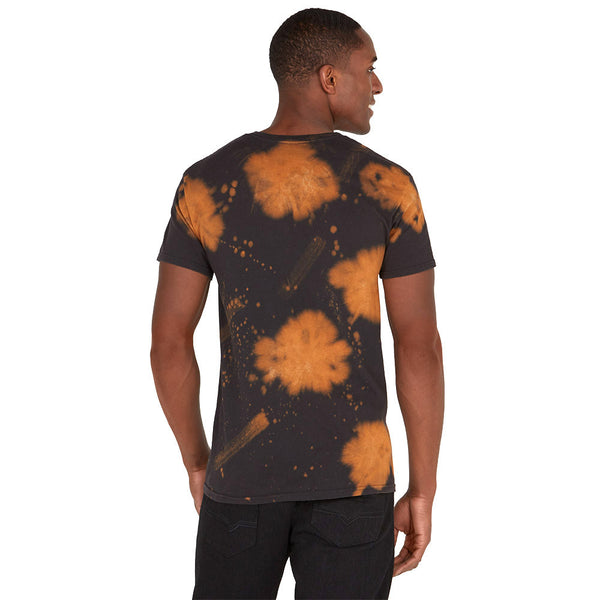 For Those About To Rock AC/DC Bleached Graphic Tee - Citi Trends Mens - Back
