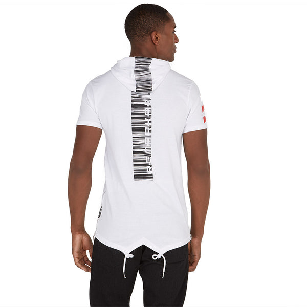 Up To Code Fishtail-Hem Graphic Hoodie - Citi Trends Mens - Back