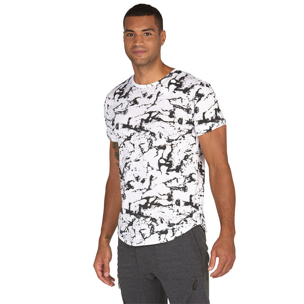 Bold Medal Winner Marble Print Tee - Citi Trends Mens - Front