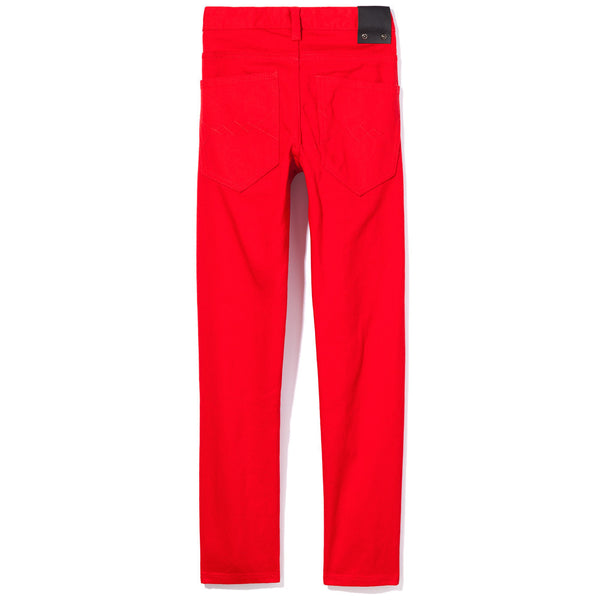 Slit Stint Boys Red Rip And Repair Jean - Citi Trends Boys - Back