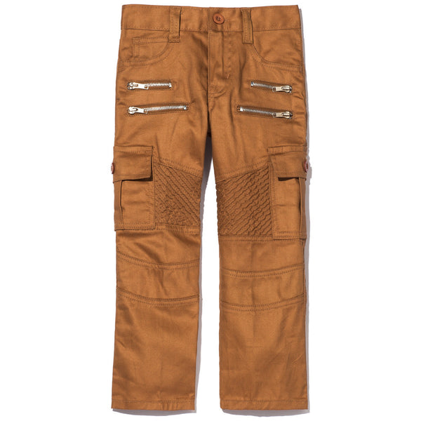 Tool For School Boys Khaki Moto Pant With Cargo Pockets - Citi Trends Accessories - Front