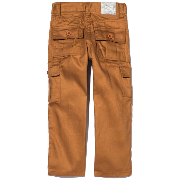 Too Cool For School Boys Khaki Moto Pant With Cargo Pockets - Citi Trends Accessories - Back